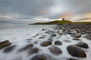 Dunstanburgh In The Fall