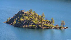 Fannette Island From Vikingsholm