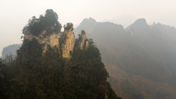 From The Top Of Tianzi Mountain