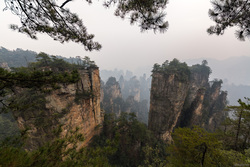 Looking Out Over Zhangjiajie
