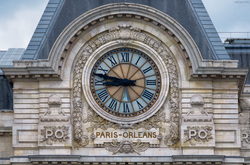 Paris Orleans Station Clock
